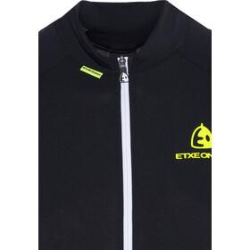 Etxeondo Maillot M/C Entzuna Fietsshirt korte mouwen Dames, black/fluor